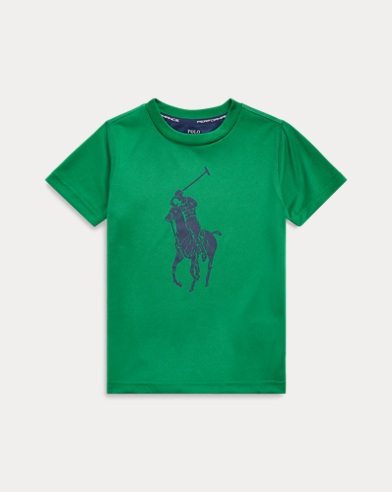 폴로 랄프로렌 남아용 티셔츠 Polo Ralph Lauren Performance Jersey Tee,Athletic Green