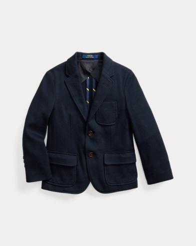 폴로 랄프로렌 남아용 니트 코튼 블레이저 Polo Ralph Lauren Knit Cotton Sport Coat,RL Navy