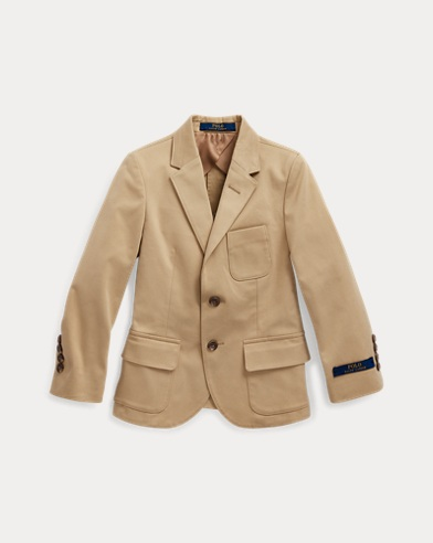 폴로 랄프로렌 남아용 수트 자켓 Polo Ralph Lauren Stretch Chino Suit Jacket,Coastal Beige