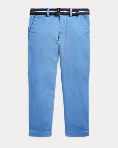 폴로 랄프로렌 남아용 스키니 치노팬츠 Polo Ralph Lauren Belted Stretch Skinny Chino,Modern Royal