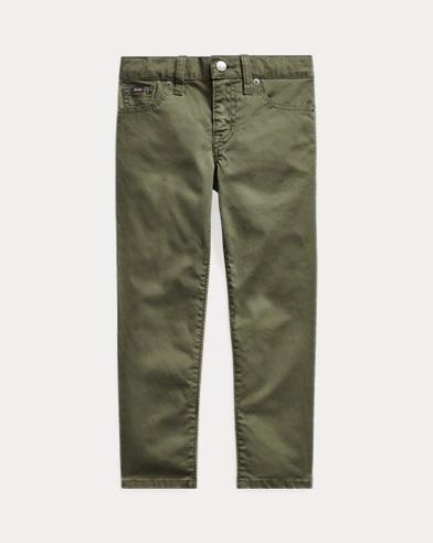 폴로 랄프로렌 남아용 스키니팬츠 Polo Ralph Lauren Varick Stretch Skinny Pant,Basic Olive