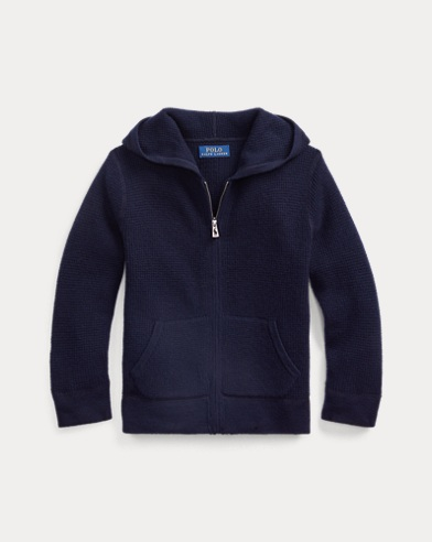 폴로 랄프로렌 남아용 후드 스웨터 Polo Ralph Lauren Cashmere Hooded Sweater,RL Navy