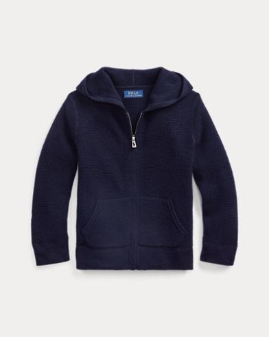 폴로 랄프로렌 Polo Ralph Lauren Cashmere Hooded Sweater,RL Navy