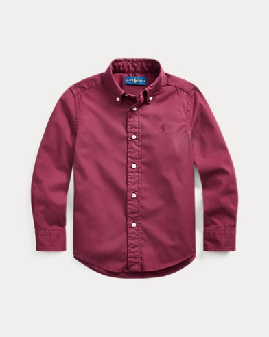 폴로 랄프로렌 Polo Ralph Lauren Cotton Twill Shirt,Classic Wine