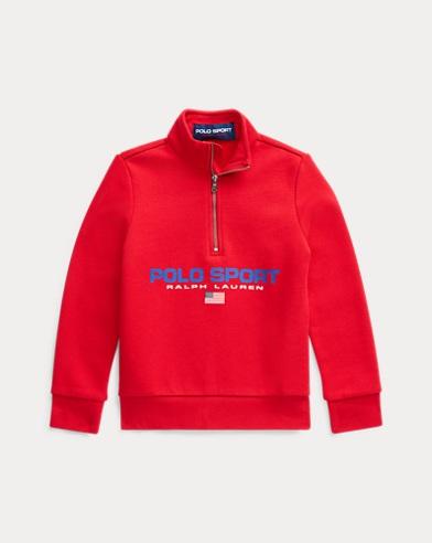 폴로 랄프로렌 남아용 스웻셔츠 Polo Ralph Lauren Polo Sport Fleece Sweatshirt,RL 2000 Red