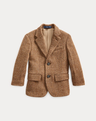 폴로 랄프로렌 Polo Ralph Lauren Polo Tick-Weave Sport Coat,Brown