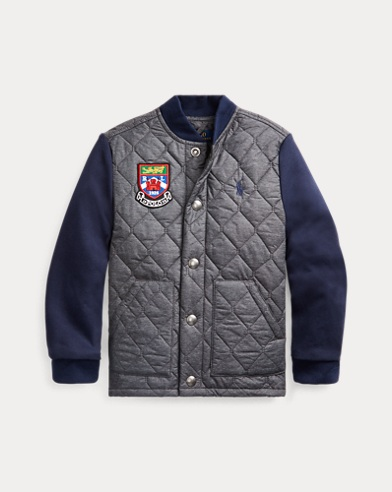 폴로 랄프로렌 보이즈 자켓 Polo Ralph Lauren Hybrid Jacket,French Navy