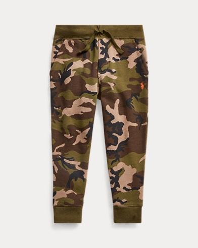 폴로 랄프로렌 남아용 조거팬츠 Polo Ralph Lauren Camo-Print Fleece Jogger Pant,Surplus Camo