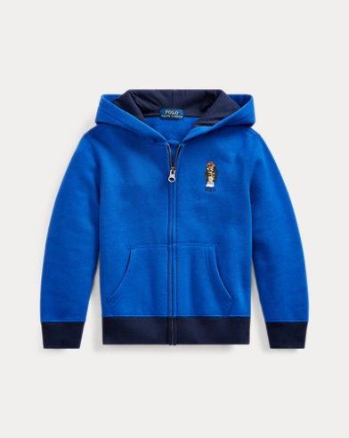 폴로 랄프로렌 Polo Ralph Lauren Football Bear Fleece Hoodie,Rugby Royal