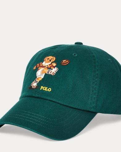 폴로 랄프로렌 Polo Ralph Lauren Kicker Bear Chino Cap,College Green