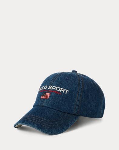 폴로 랄프로렌 Polo Ralph Lauren Limited-Edition Denim Cap,Burroughs Wash