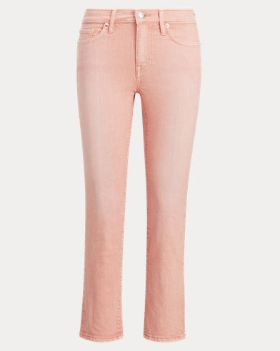 폴로 랄프로렌 Polo Ralph Lauren Premier Straight Crop Jean,Primrose Wash