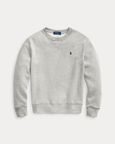 폴로 랄프로렌 Polo Ralph Lauren Cotton-Blend-Fleece Sweatshirt,Dark Sport Heather