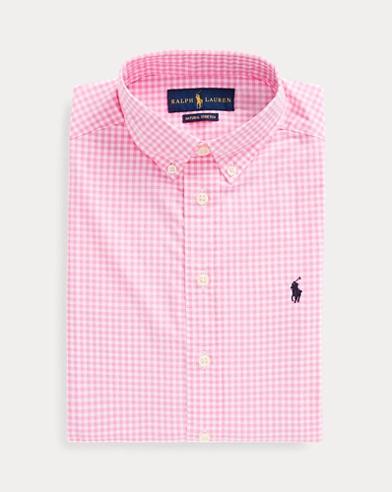 폴로 랄프로렌 보이즈 셔츠 Polo Ralph Lauren Gingham Cotton Poplin Shirt,Pink Multi