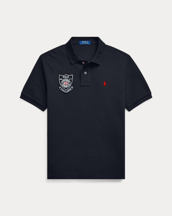 폴로 랄프로렌 보이즈 폴로 셔츠 Polo Ralph Lauren Signature Pony Crest Polo,Polo Black