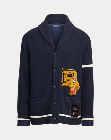 폴로 랄프로렌 Polo Ralph Lauren The Tiger Cardigan,헌터 Hunter Navy/Andover Cream