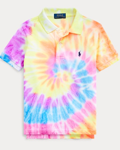 폴로 랄프로렌 남아용 폴로 셔츠 Polo Ralph Lauren Tie-Dyed Cotton Mesh Polo,Tie Dye