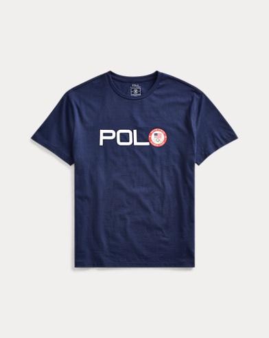 폴로 랄프로렌 Polo Ralph Lauren Team USA Cotton Jersey Tee,French Navy
