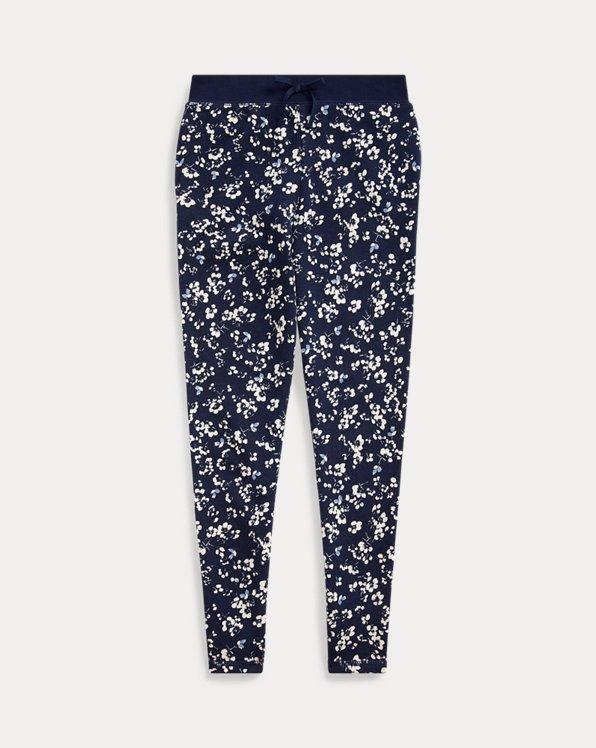 폴로 랄프로렌 걸즈 플로럴 바지 Polo Ralph Lauren Floral Cotton Terry Pant,Thames Floral