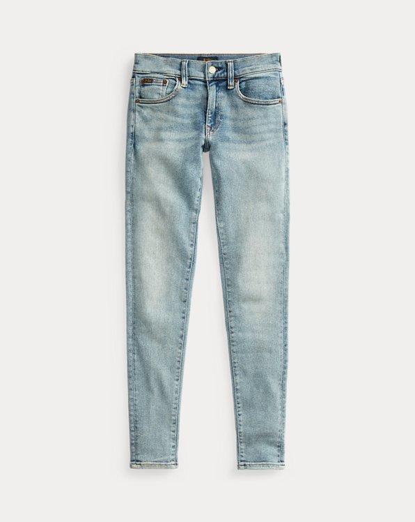 폴로 랄프로렌 Polo Ralph Lauren Tompkins Skinny Jean,Light Indigo