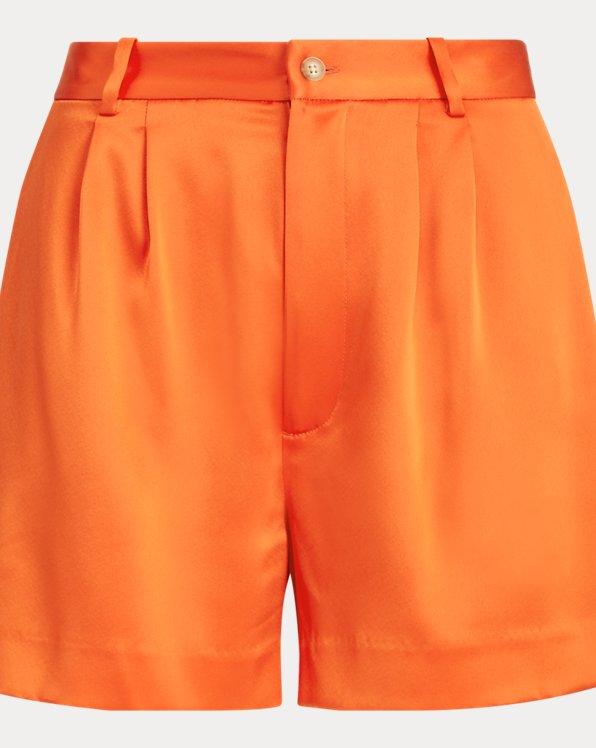 폴로 랄프로렌 우먼 새틴 반바지 Polo Ralph Lauren Satin Short,Dusk Orange
