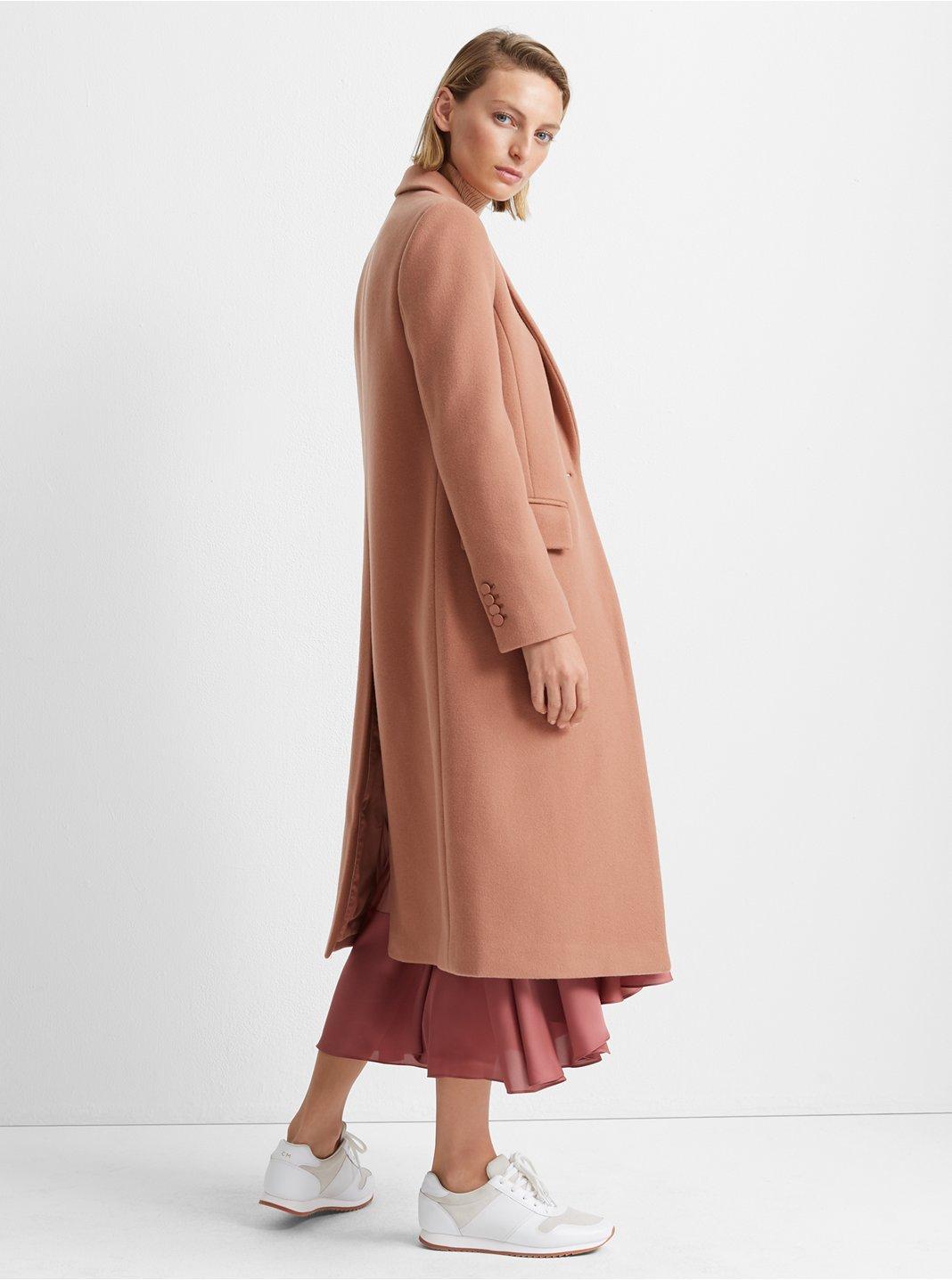 클럽 모나코 Club Monaco Slim Tailored Coat,Blush