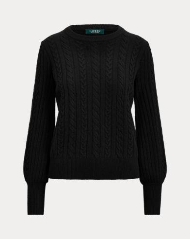 폴로 랄프로렌 스웨터 Polo Ralph Lauren Cashmere-Blend Sweater,Polo Black