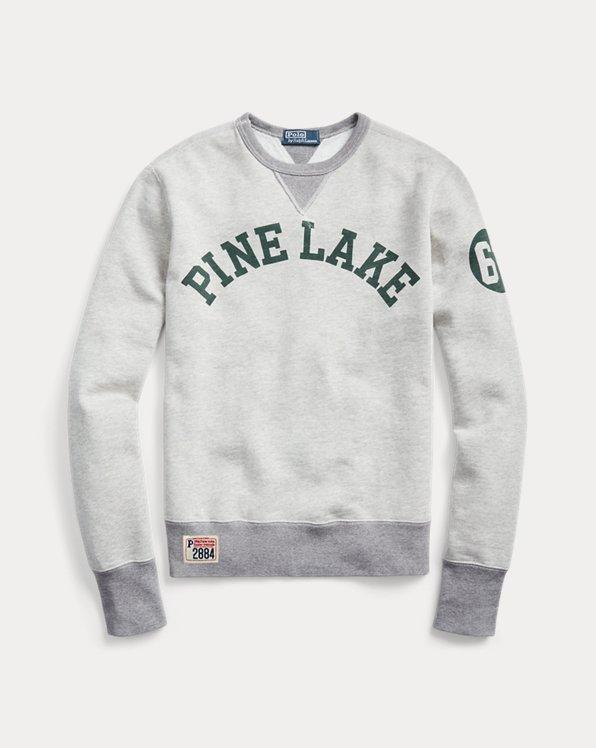 폴로 랄프로렌 'Pine Lake' 플리스 맨투맨 (류준열, 세븐틴 호시 착용)  Polo Ralph Lauren Fleece Graphic Sweatshirt,Light Vintage Heather