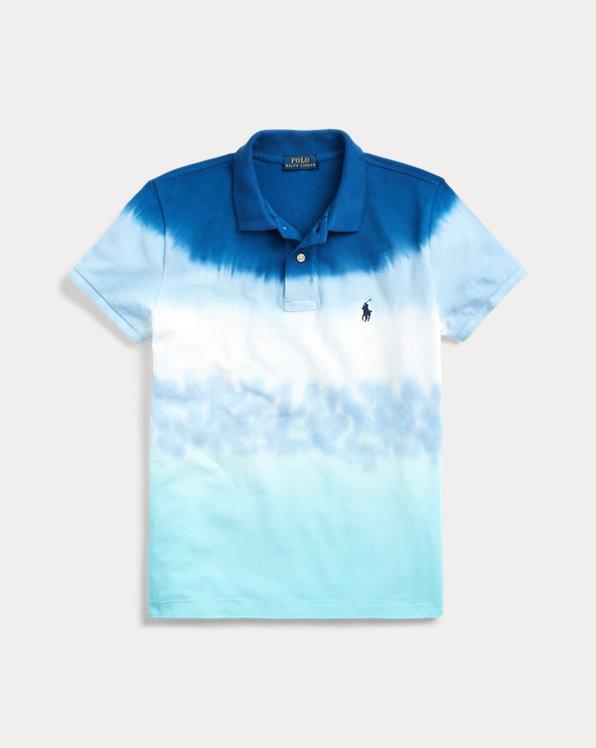 폴로 랄프로렌 Polo Ralph Lauren Tie-Dye Polo Shirt,Ocean Dye