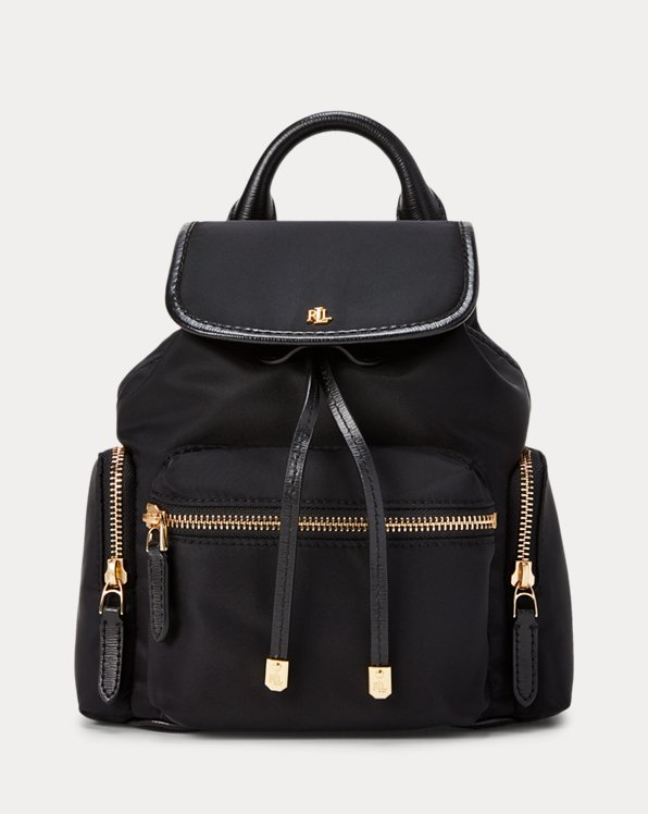 폴로 랄프로렌 백팩 스몰  Polo Ralph Lauren Nylon Keely Small Backpack,Black