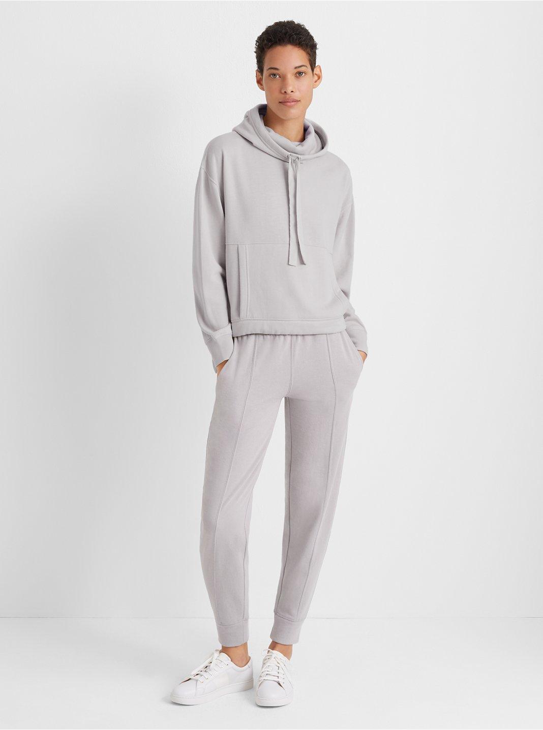 클럽 모나코 Club Monaco Cozy Sweatpant,Silver