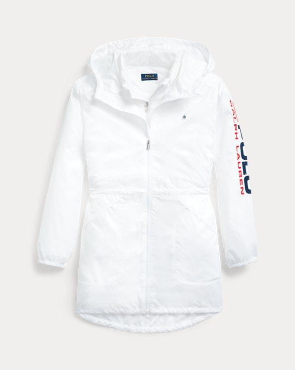 폴로 랄프로렌 걸즈 자켓 Polo Ralph Lauren 3-in-1 Ripstop Jacket,White
