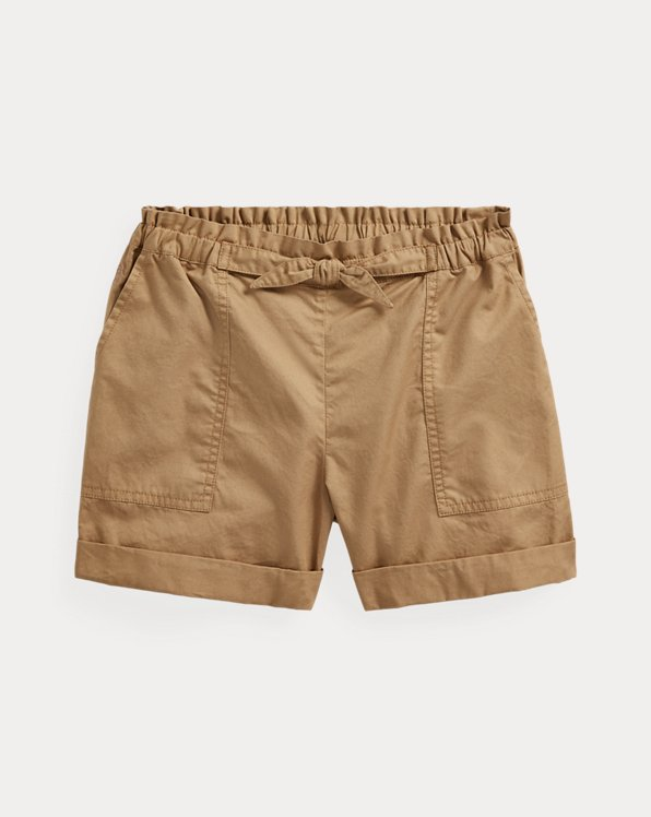 폴로 랄프로렌 걸즈 반바지 Polo Ralph Lauren Cotton Twill Camp Short,Boating Khaki