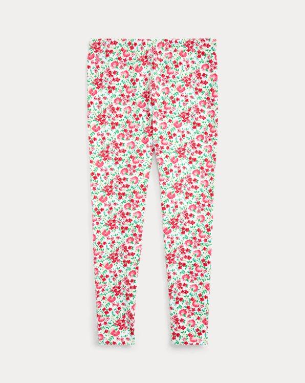 폴로 랄프로렌 걸즈 레깅스 Polo Ralph Lauren Floral Stretch Jersey Legging,Pink Multi