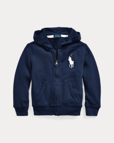 폴로 랄프로렌 남아용 후드티 Polo Ralph Lauren Big Pony French Terry Hoodie,Newport Navy