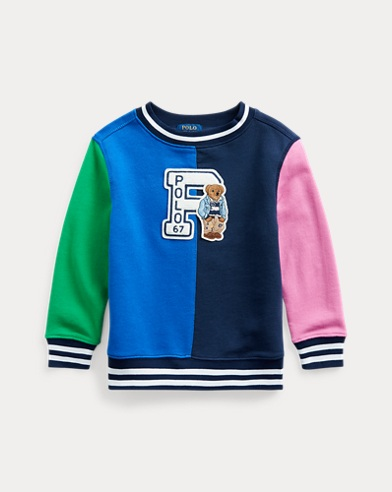 폴로 랄프로렌 남아용 베어 맨투맨 Polo Ralph Lauren Polo Bear Cotton Sweatshirt,Travel Blue