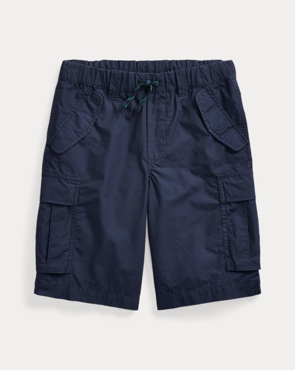 폴로 랄프로렌 보이즈 반바지 Polo Ralph Lauren Cotton Ripstop Cargo Short,Newport Navy