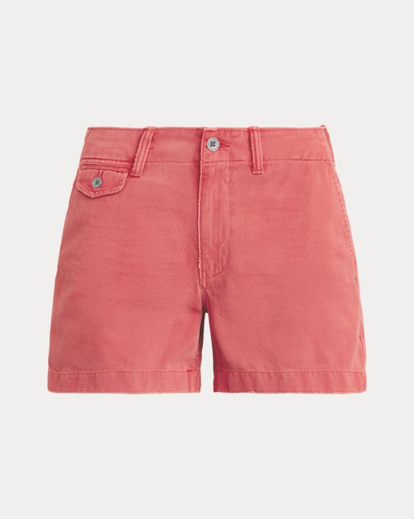폴로 랄프로렌 우먼 치노 반바지 Polo Ralph Lauren Cotton Chino Short,Nantucket Red