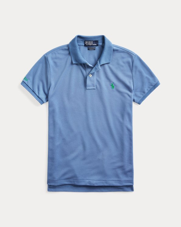 폴로 랄프로렌 우먼 폴로 셔츠 Polo Ralph Lauren The Earth Polo,French Blue