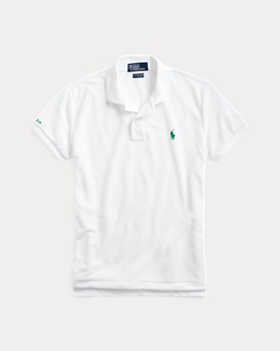 폴로 랄프로렌 우먼 폴로 셔츠 Polo Ralph Lauren The Earth Polo,Pure White