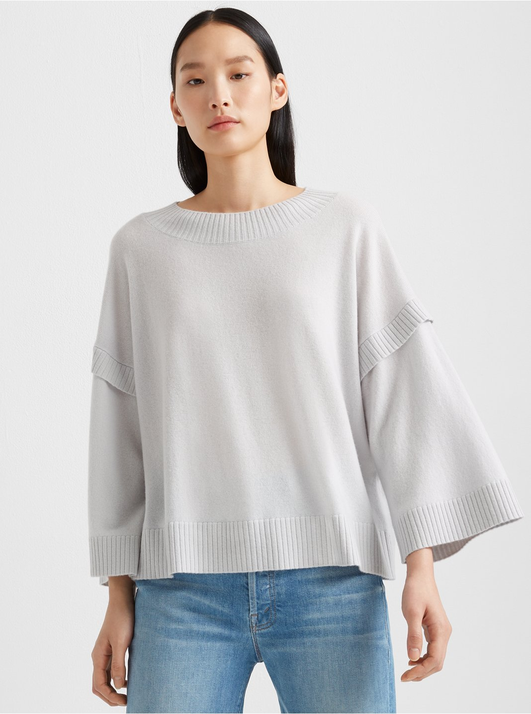 클럽 모나코 Club Monaco Wide Sleeve Cashmere Sweater