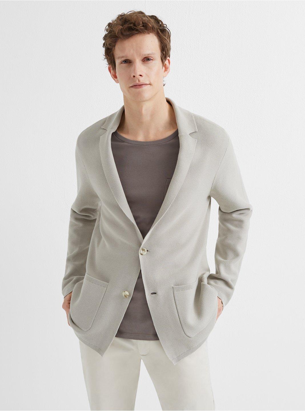 클럽 모나코 맨  니트 정장 자켓 Club Monaco Sweater Blazer,Khaki