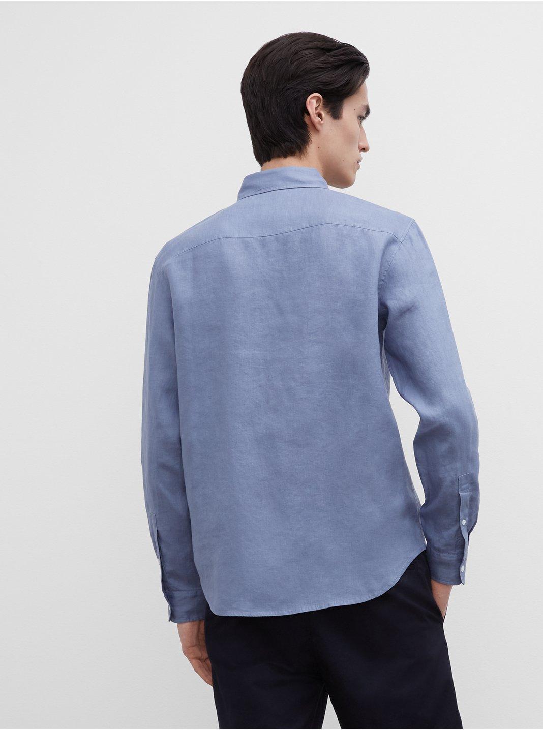 클럽 모나코 맨 린넨 셔츠 Club Monaco Slim Linen Shirt