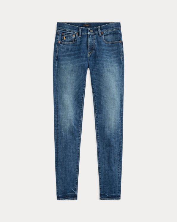 폴로 랄프로렌 Polo Ralph Lauren Tompkins Skinny Jean with Pony,Medium Indigo