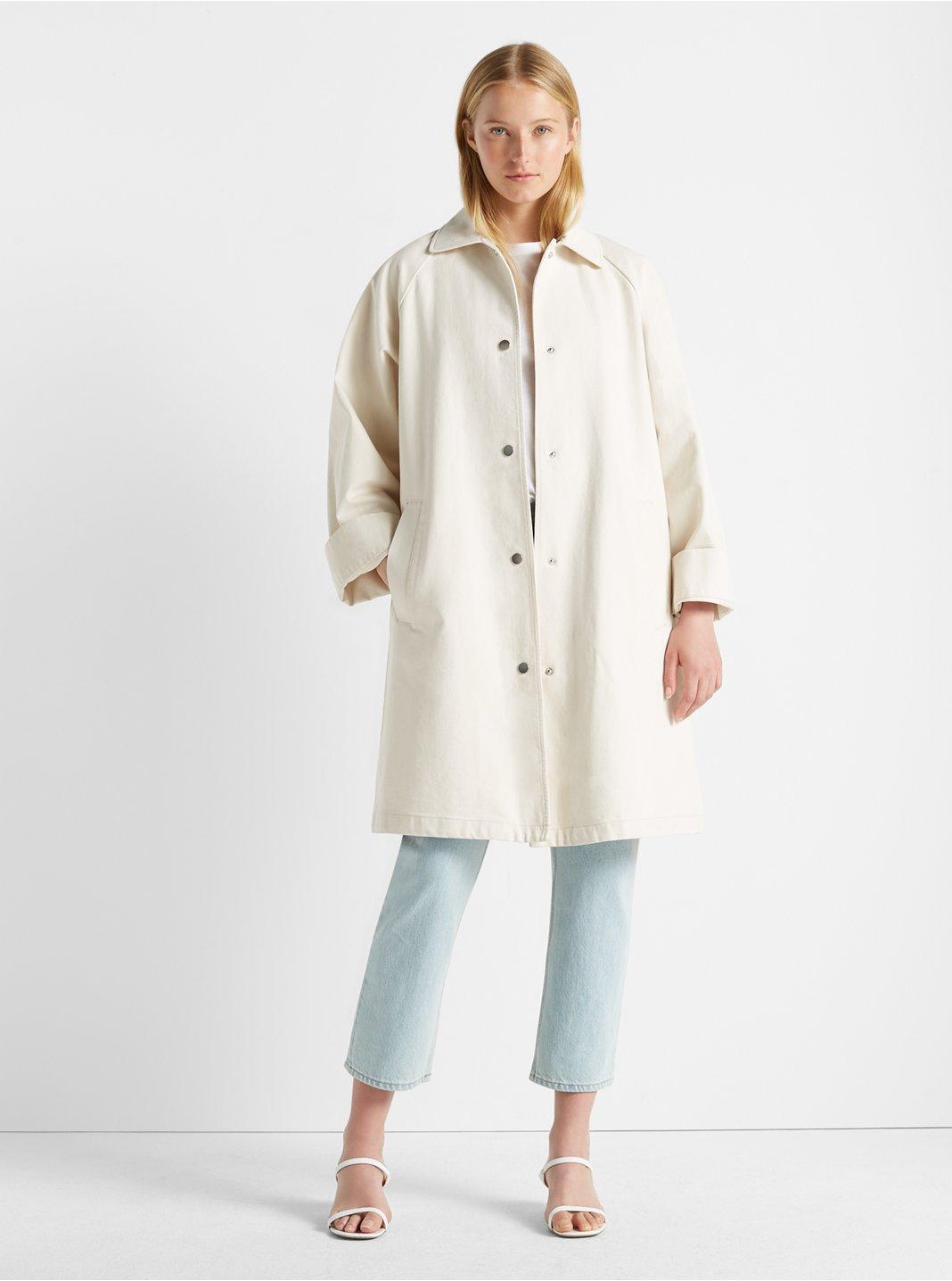 클럽 모나코 데님 코트 - 2 컬러 Club Monaco Denim Coat