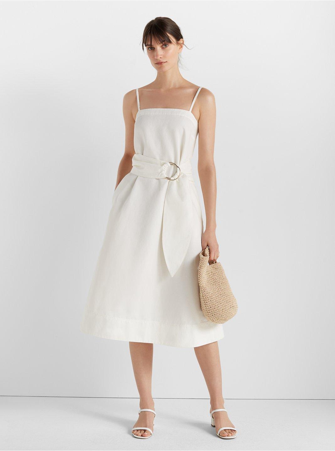 클럽 모나코 벨티드 에이라인 원피스 Club Monaco Belted A-Line Dress