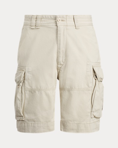 폴로 랄프로렌 Polo Ralph Lauren Classic Fit Cargo Short,Tan