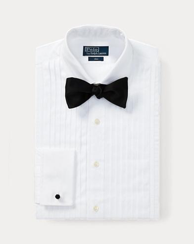폴로 랄프로렌 Polo Ralph Lauren Classic Fit Tuxedo Shirt,White