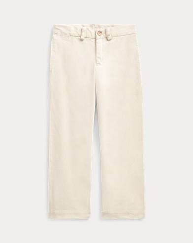 폴로 랄프로렌 남아용 치노 팬츠 샌드 (슬림핏) Polo Ralph Lauren Slim Fit Cotton Chino Pant,Basic Sand