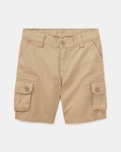 폴로 랄프로렌 남아용 반바지 카키 Polo Ralph Lauren Cotton Chino Cargo Short,Classic Khaki 76500